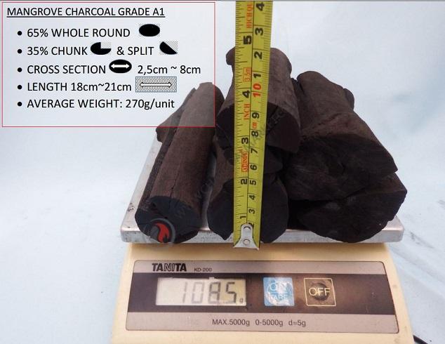 Mangrove Charcoal A1 Grade