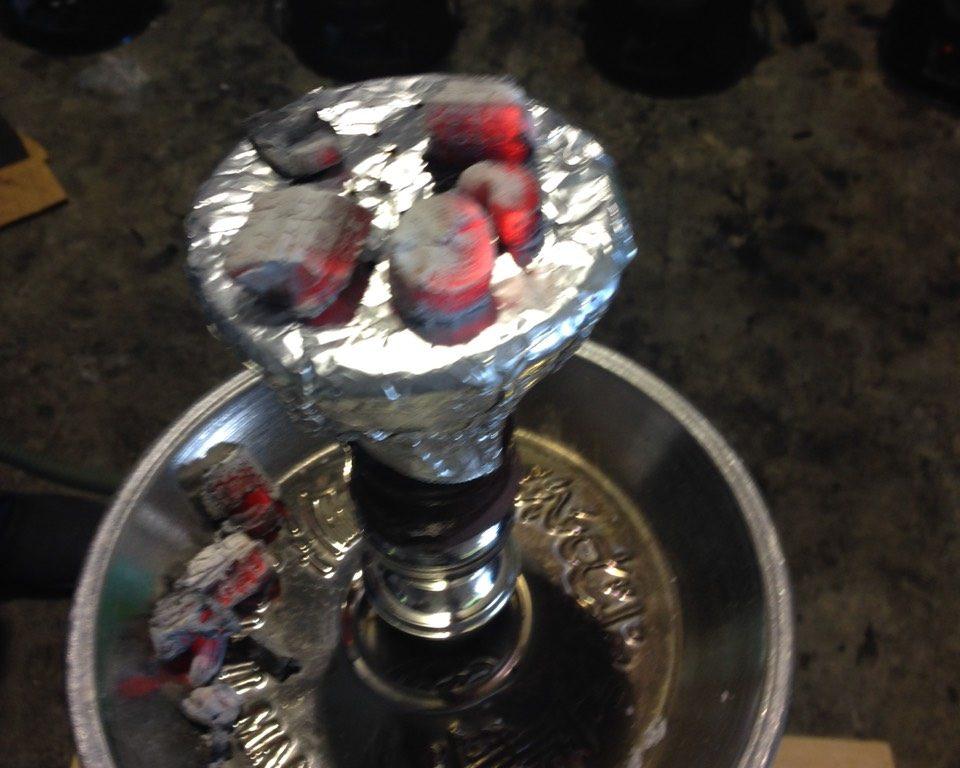 shisha charcoal premium grade