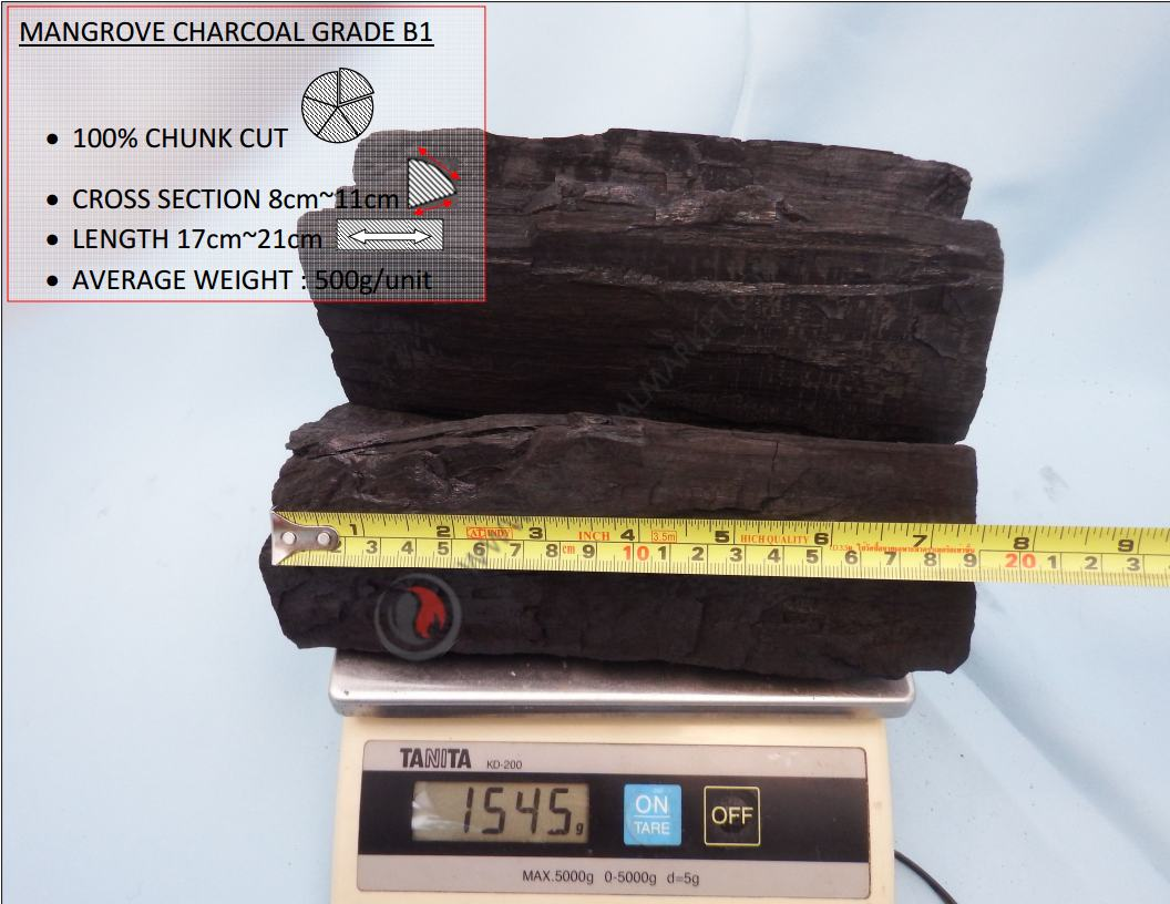 Mangrove Charcoal Grade B1