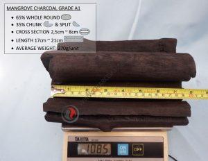 Mangrove Charcoal Grade A1