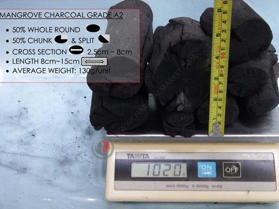 Mangrove Charcoal A2 Grade