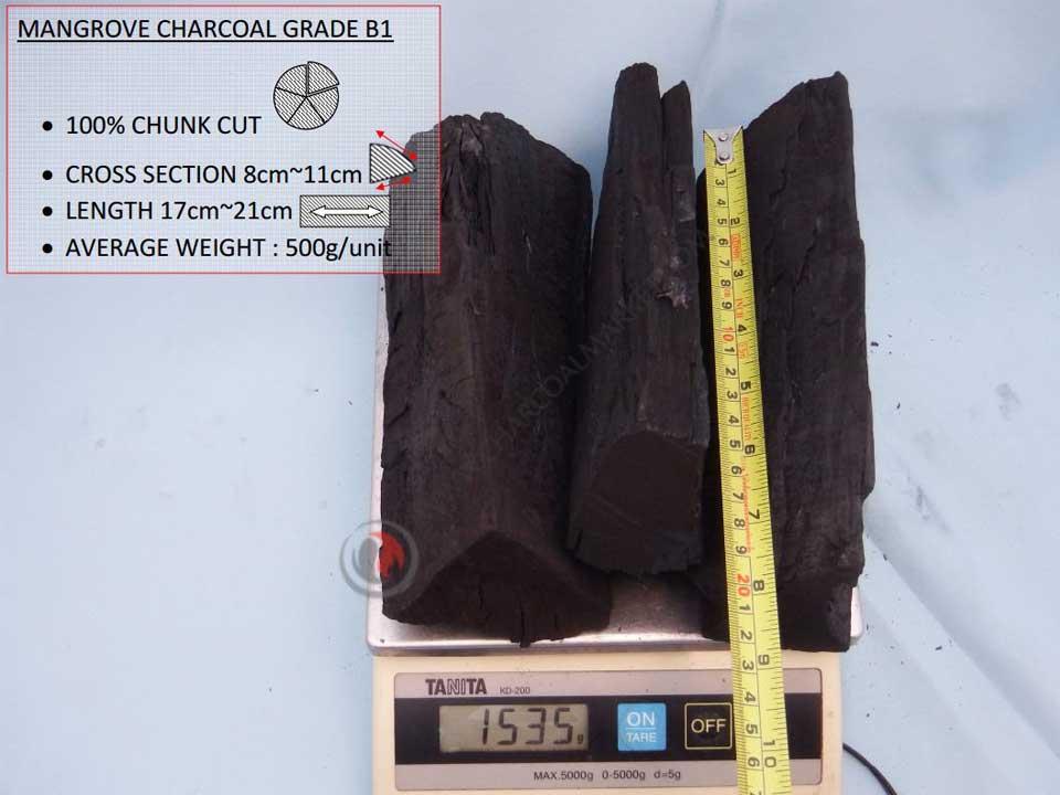 Mangrove Charcoal Thailand