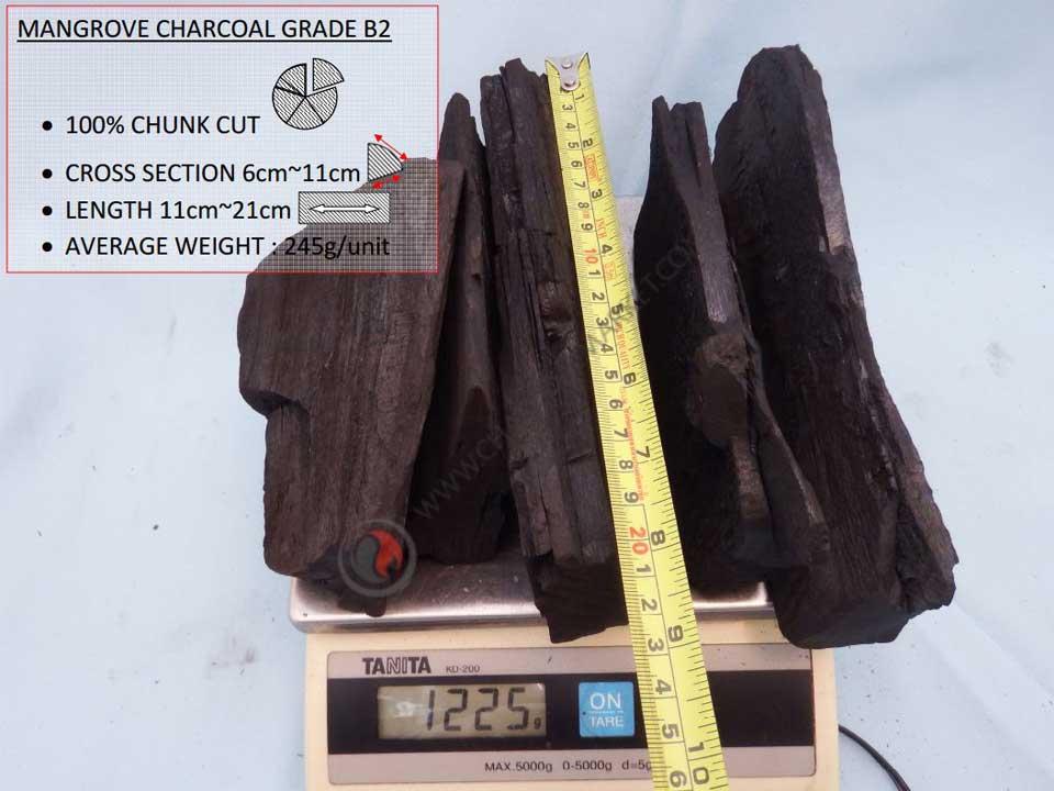 Mangrove Charcoal B2 Grade