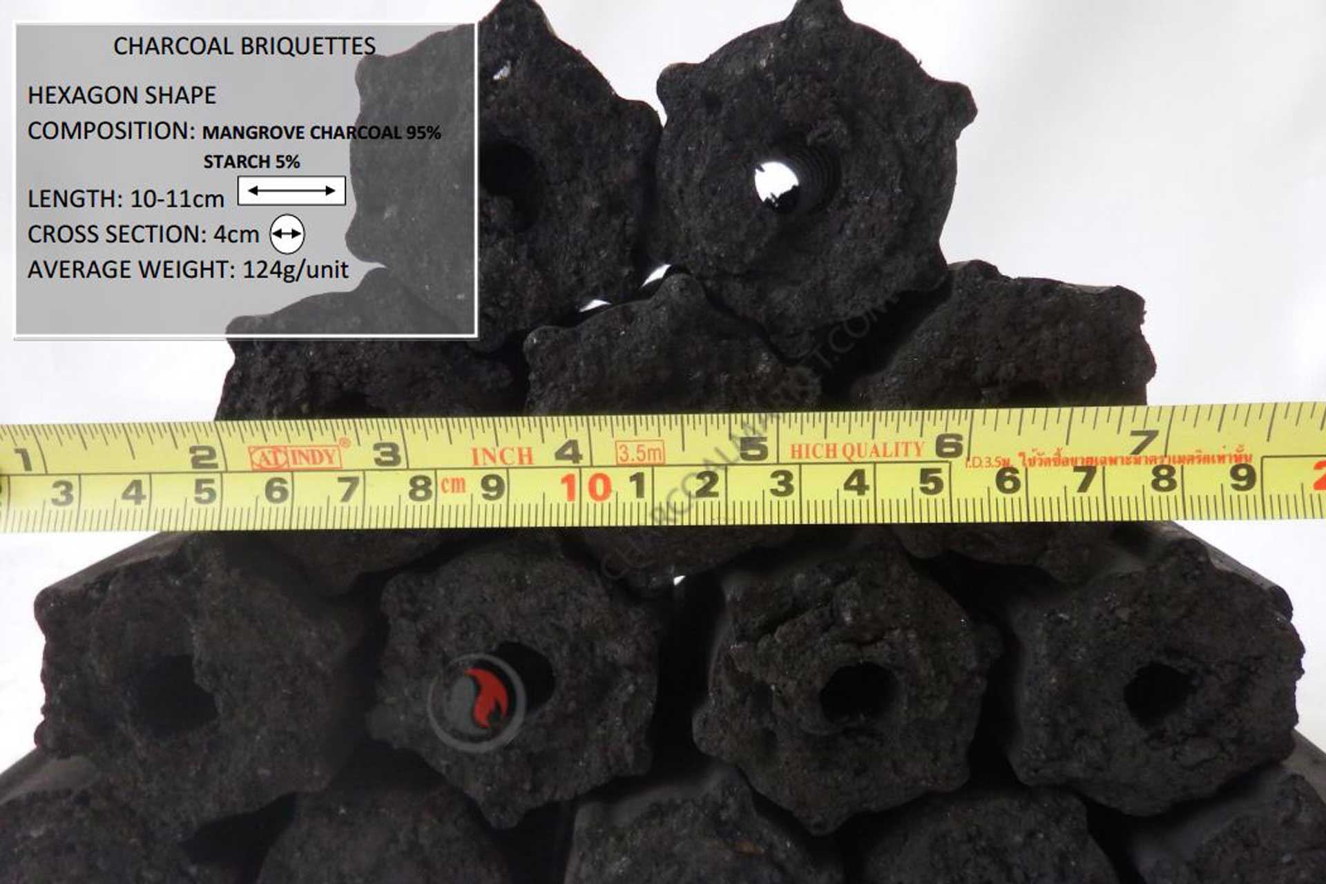 Charcoal exporter and supplier from Thailand