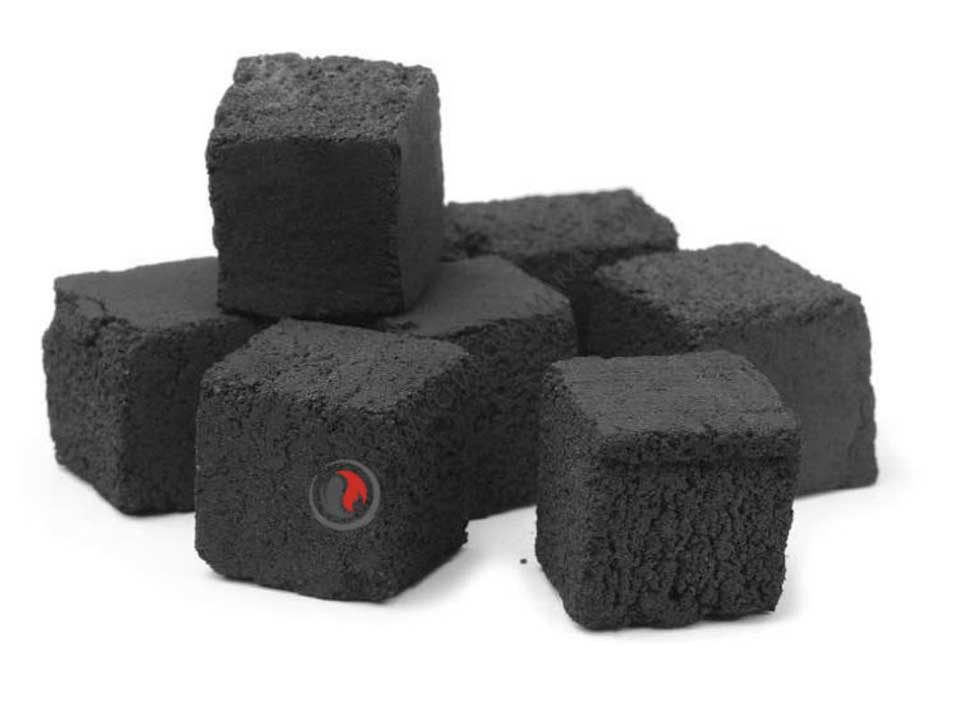Charcoal briquettes for shisha